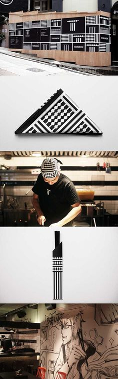 Japanese Yakitori Ramen restaurant identity Torimen