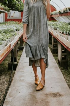 Greta Midi Dress | ROOLEE