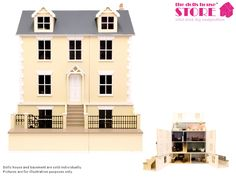 Willow Cottage DW-DH015 Dolls House Emporium