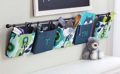Thirty-One Gifts - Organize your home with Oh Snap Pockets! #ThirtyOneGifts #ThirtyOne #JewellByThirtyOne #Monogramming #Organization #OhSnapPocket
