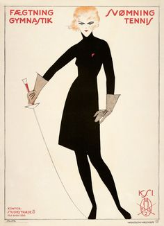 "mudwerks: "" Fencing, gymnastic, swimming, tennis Female Students' Association (1919) Autor : Sven Brasch """