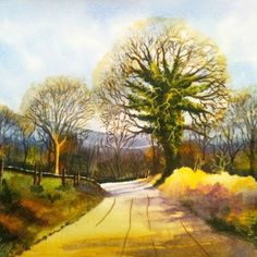 The Road From Stanton Lees by Ian McKendrick