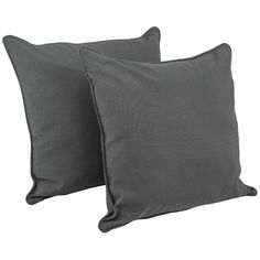 Blazing Needles Soft Home Furnishings Solid Floor Pillow Fabric: