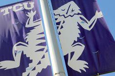 Banner TCU Texas Christian University Fort Worth Horned Frogs Purple Campus DSC_8395 by Dallas Photographer David Kozlowski, via Flickr