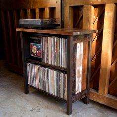 Turntable Stand & LP Storage