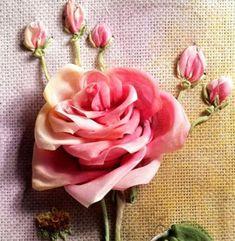 Silk Ribbon Embroidery Ideas By Valentina Razenkova