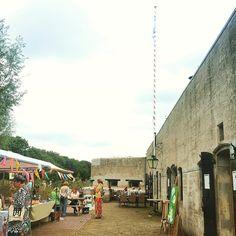 Creatieve workshops op Fort aan de Drecht #FortaandeDrecht #Werelderfgoedweekend #StellingvanAmsterdam #OpenMonumentendag #Uithoorn #Stampions #werelderfgoed