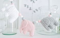 Knitting For Kids, Baby Knitting Patterns, Crochet Elephant, Handmade Home, Diy Crochet, Kids And Parenting, Needle Felting, Baby Love, Homemade