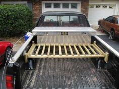 Wood Truck Bed Bike Racks