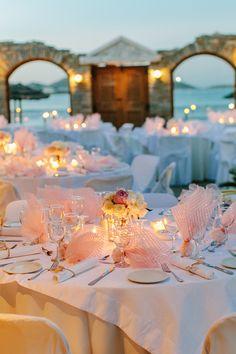 Photography: Yiannis Alefantou - www.alefantouimagery.com/ Read More: http://www.stylemepretty.com/destination-weddings/2014/05/27/greek-islands-destination-wedding/