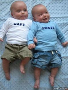 I hope I have twins so I can do this