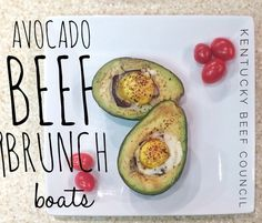 These Avocado Beef Brunch Boats are sure to add some color to your brunch and they are PACKED with protein.