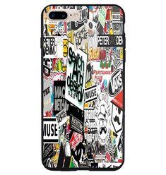 Best Sticker bomb Art Design iPhone 6 6s 7 8 X Plus SE Print On Hard Case #UnbrandedGeneric #Cheap #New #Best #Seller #Design #Custom #Gift #Birthday #Anniversary #Friend #Graduation #Family #Hot #Limited #Elegant #Luxury #Sport #Special #Hot #Rare #Cool #Top #Famous #Case #Cover #iPhone #iPhone8 #iPhone8Plus #iPhoneX