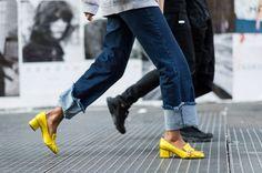 OB SE SIO NA DAS con los zapatos de Gucci