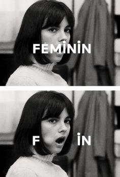 Chantal Goya in 'Masculin Féminin' by Jean-Luc Godard (1966)