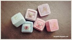 """Making Vintage Velvet Ring Box 