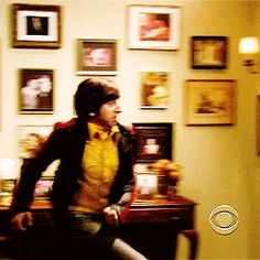 """When Howard tried to break a door down 