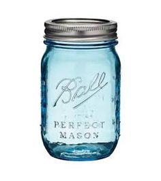 Got to love the classic blue Mason jars
