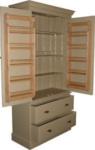 Kitchen Larder Cupboard Unit - Hand Made in the UK - Free Delivery to Most Areas