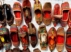 rajasthani shoes - Google Search