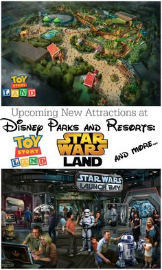 Disney Parks Updates - Star Wars Land, Toy Story Land, Avatar Land, and more!
