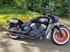 """2018 INDIAN SCOUT BOBBER """"2000 miles"""" no swap.chopper.custom.bobber.no swop p/x WELCOME......as you can see this is as new condition with only 2000miles,it has had tons of cash spent to include,stage 1 exhaust system.20s solo seat.mini apehangers.indian sidebag.bullet shox.spoke wheels""""custom coated"""". etc...... the bike is stunning with the warranty included.i would like a cash sale ideally but i may be open to a p/x on a custom chopper,dia Victory Motorcycles, Indian Motorcycles, Used Motorcycles, Custom Motorcycles, Custom Bikes, Indian Dark Horse, Indian Motors, War Bonnet, Indian Scout"""