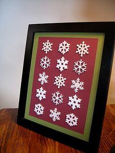 I love snowflakes!