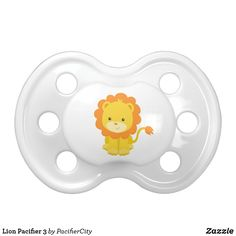 Shop Lion Pacifier 3 created by PacifierCity. Personalize it with photos & text or purchase as is! Boy Pacifier, Binky, Baby Animals, Cute Animals, Mouth Guard, Baby Art, Animals Images, Doodle Art, Cute Cartoon