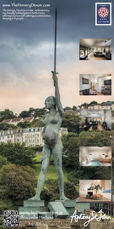 Golden Coast, North Devon, Architect Design, Statue Of Liberty, Eco Friendly, Contemporary, Luxury, Holiday, Travel