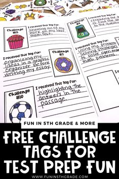 Test Prep Fun Your Students Will Love! Fun Test, Math Test, Test Prep, Cooperative Learning, Student Learning, Practice Math Problems, Figurative Language Activity, Test Taking Strategies, Upper Elementary
