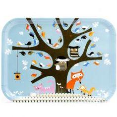 Oak tree tray