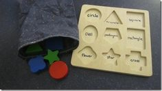 game for shape puzzle plus lots more sensory lessons you can do at home