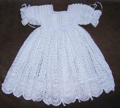 Cherry Hill baby Crochet: Christening gown Dresses