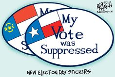 The Election Day sticker that should never be.