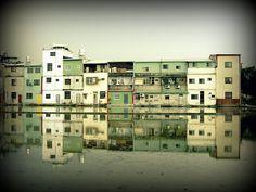 Ding Tai Village. Taichung County. Taiwan