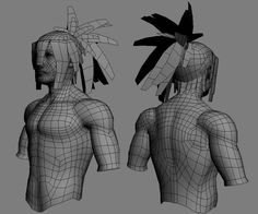 Suri (need crits and comments) - 3DTotal Forums