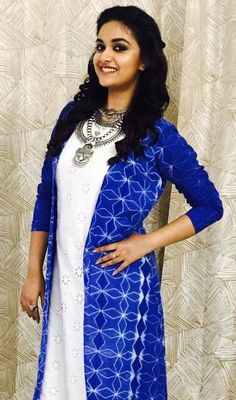 Indian Film Actress, South Indian Actress, Indian Actresses, Keerthy Suresh Hot, Keerti Suresh, Best Heroine, Designer Party Wear Dresses, Cute Girl Poses, India Beauty
