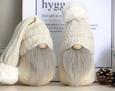 The home of the hygge gnome. by RaggedHome on Etsy Christmas Gnome, Christmas Ornaments, Pink Christmas Decorations, Scandinavian Gnomes, Simple Christmas, Diy Crafts For Kids, Holiday Crafts, Handmade, Etsy