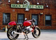 bmw r100/60 cafe racer | fred zust