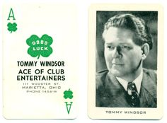 Tommy Windsor Throwing Card