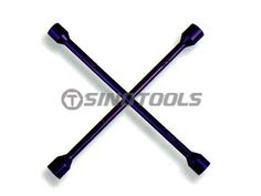 Cross Rim Wrench Fully Polished Anodized Colour #Wrench #SINOTOOLS