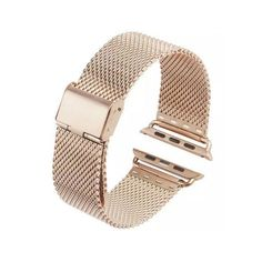 Add a new style to your Apple Watch with these awesome bands. These bands are made of high quality Stainless Steel and has a great look and feel. - All stainless steel solid wire mesh with interlock c