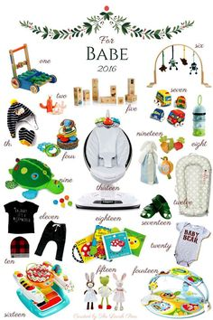 Holiday: For Babe Looking for Holiday gift ideas for baby? Check out our gift guide for our most loved products.