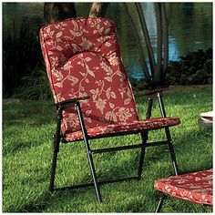 Wilson Fisher Folding Padded Chair At Lots 29 99