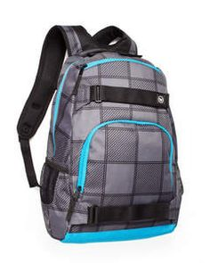 Jansport Big Student Backpack Blue Gray Duke Plaid Bag School Book ...