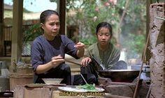 scent of green papaya movie | Scene from the movie The Scent of Green Papaya