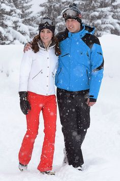 Kate Middleton shared this personal vacation photo wearing ski gear while enjoying a short winter getaway in the French Alps.