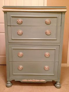 after  Always Something: Isn't She Lovely? Furniture Makeover Using Chalk Paint Part II