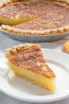 Chess Pie Recipe Rich southern pie made with simple ingredients butter sugar and stard pie This one hails from Mississippi State University Kitchen Recipes, Pie Recipes, Dessert Recipes, Coconut Recipes, Appetizer Recipes, Recipies, Lemon Chess Pie, Butter Pie, Butter Chess Pie Recipe