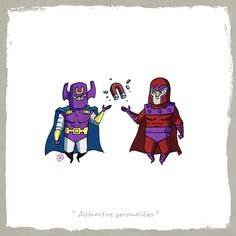 Little Friends - Dr.Polaris and Magneto by rawlsy.deviantart.com on @deviantART